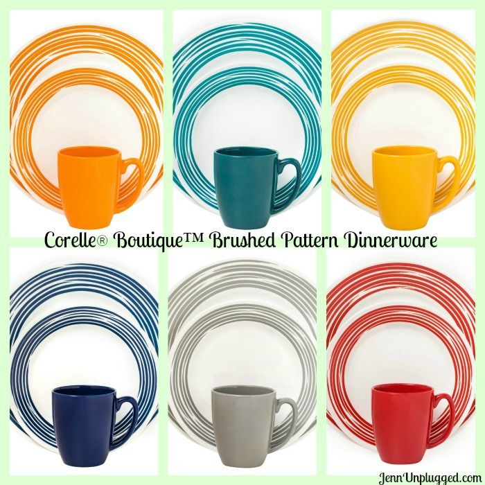 Corelle Dinnerware – Exclusively at Kohl's I want the orange ones. I'd like four sets and am saving for them. Mom/Cami