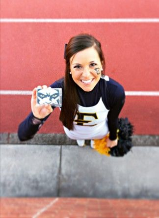 ETSU Cookies  East Tennessee State University  Lettie's Labor of Love Football Cookies