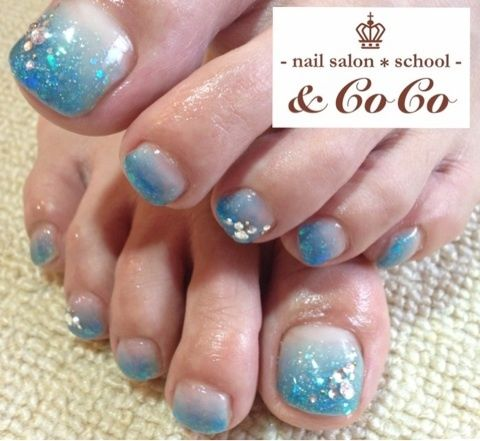 toe nails designs blue toe nails toe nail