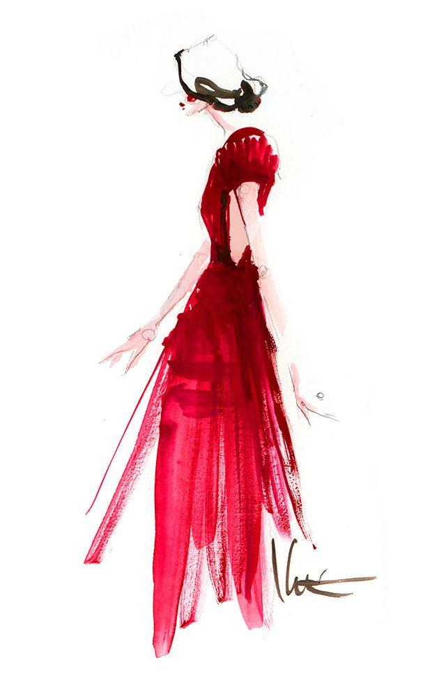 Paper fashion.