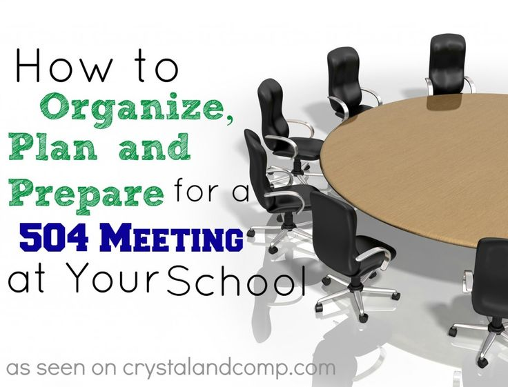 for at Organize  Schools to for outlet Section How     Meeting Plan Your a men and School Prepare