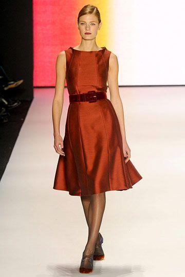 Carolina Herrera: Fashion Men, Herrera Fall, Flare Skirts, Fashion Week, Carolina Herrera, Herrera Dresses, Dresses I D, 2011 Rtw, Fall 2011