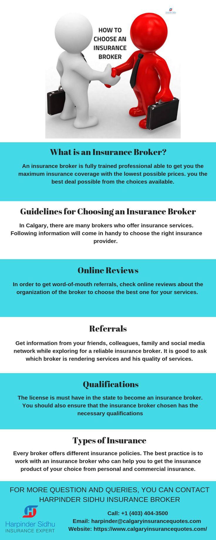 How to Choose an Insurance Broker