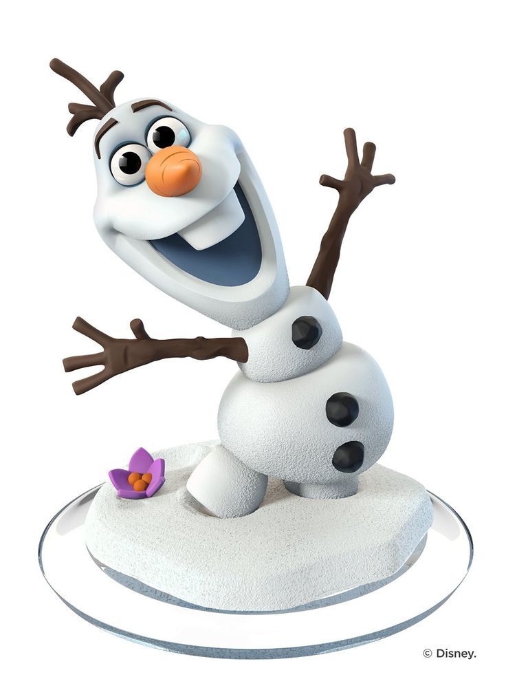 Disney Infinity 3.0 Figure: Olaf (Wave 1, Toy Box Only, Sold Separately)