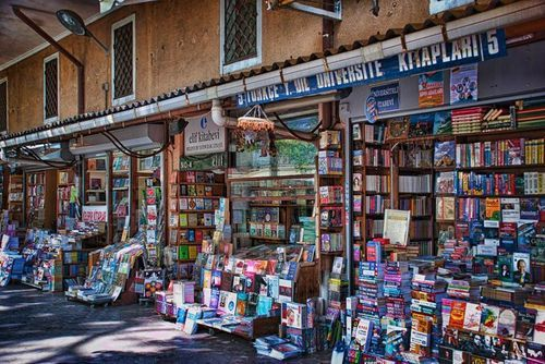 University Bookshop, Istanbul  Nice.