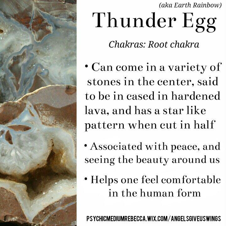 Thunder Egg crystal meaning