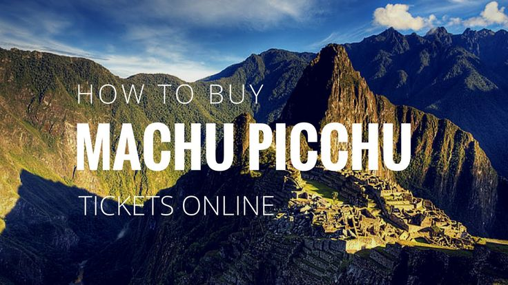 Struggling to book your own Machu Picchu tickets online? This step-by-step video guide will show you how to buy your tickets online through the official #MachuPicchu ticket website. Get planning your dream adventure to #Peru!
