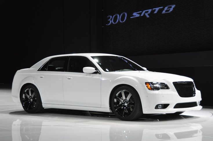 2017 Chrysler 300 SRT8 white new concept