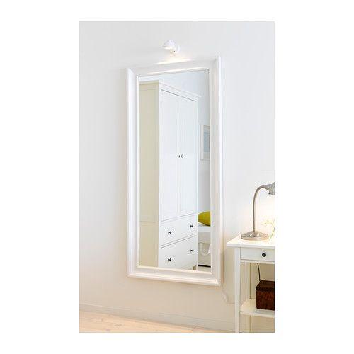 HEMNES Espejo - blanco - IKEA