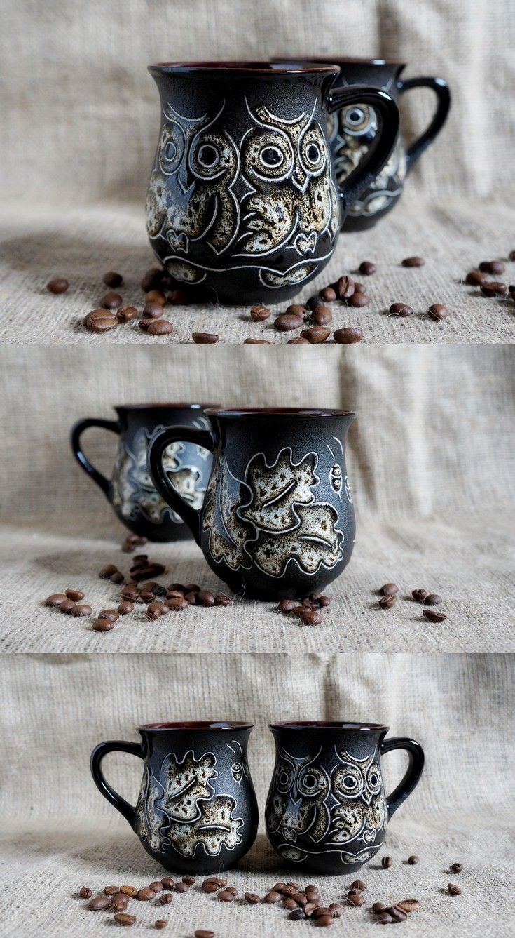 $35.00 #Housewarminggift for women birthday gifts|for|mom #mugpottery #Owls gift|for|wife mug Party #giftforgirlfriend #mugceramic #Teacupceramic