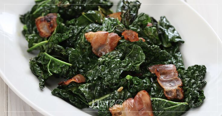 Kale is a powerful green full of antioxidants and vitamins, plus heart-healthy fiber. Stir-fried with garlic and ginger, it makes a healthy side dish.