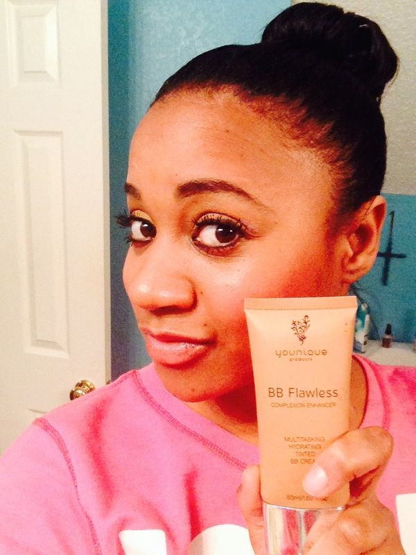 BB Flawless Complexion Enhancer This multitasking cream moisturizes, perfects, protects, and works beautifully as a lightweight foundation on its own. It provides a flawless appearance and fights shine to give a natural-looking matte finish. Consider it your skin's new best friend. www.dazzlelashbycristina.com