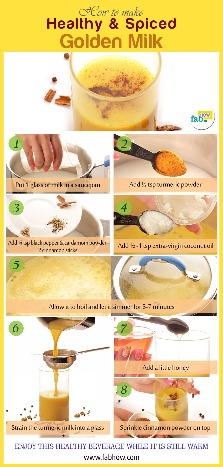 How to Make Life Changing Turmeric Golden Milk - use nondairy and maple syrup rather than honey