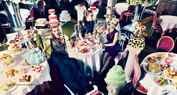 Style to savour - Harrods combines fashion with food in a new digital campaign