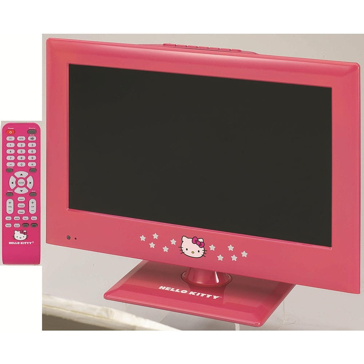 Hello Kitty 15 Inch Led Tv With Remote Christine Bryant