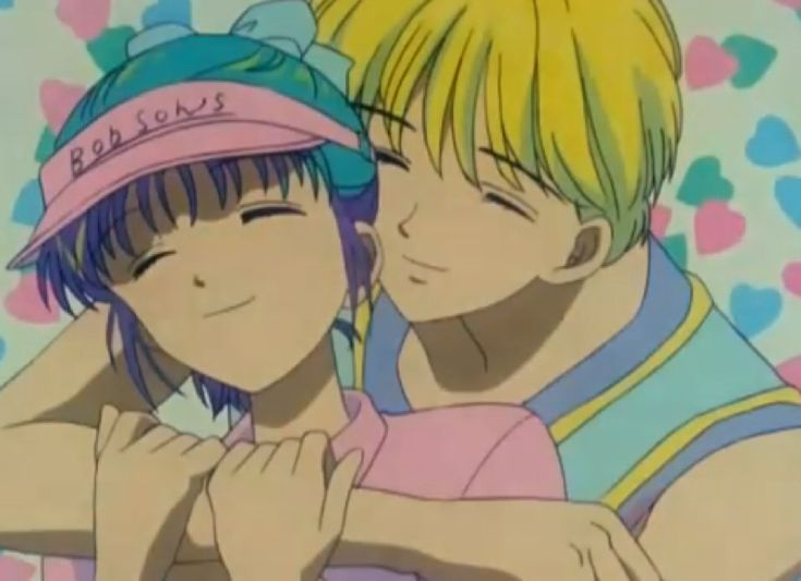 Anime couple. ♡ (I seriously need to know this anime.)