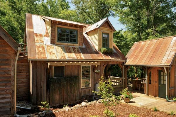 salvage home in Alabama: Green Home, Houses Art, Art Studios, Reclaimed Materials, Mothers Earth News, Tiny Houses, Building Houses, Old Tins, Guest Houses
