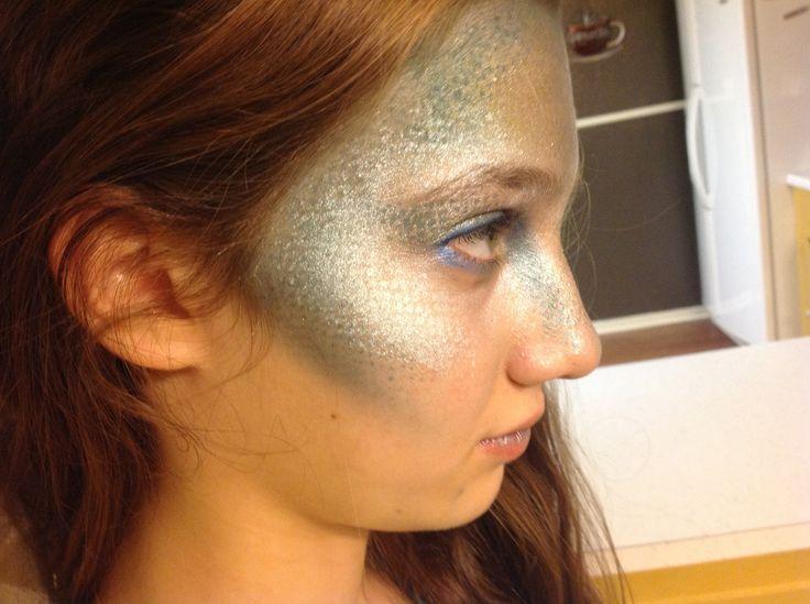 Kids mermaid makeup