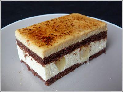 Chic, chic, chocolat...: Entremet poire, caramel et chocolat