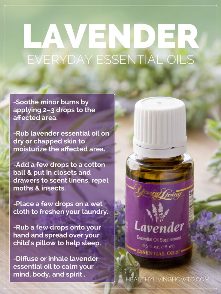 Pin en Young Living Lavender