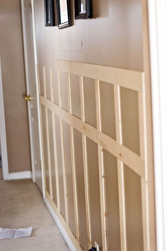 quick & inexpensive DIY wainscoting | Tidbits from the Tremaynes: You can do this, Homeslice.