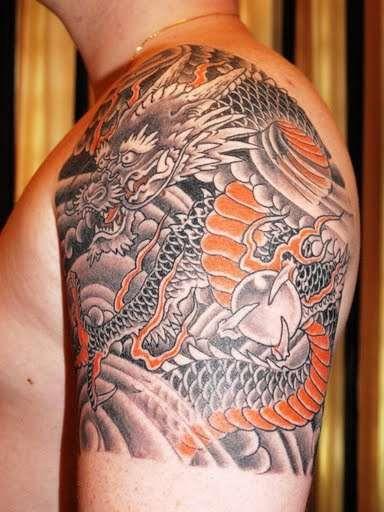 128 best traditional japanese tattoos images on pinterest. Black Bedroom Furniture Sets. Home Design Ideas