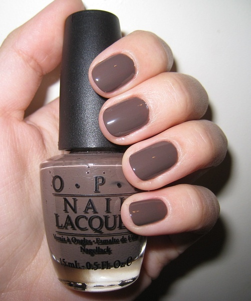 Had my nails painted with this today. OPI Gel Polish in You Don't Know Jacques! LOVE!
