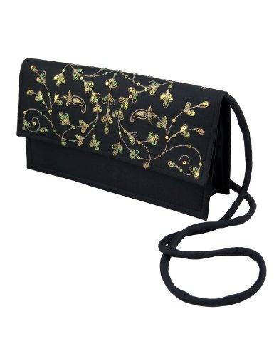 Monederos y bolsos para mujer tela de seda bordado a mano: Amazon.es: Juguetes y juegos