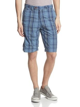 63% OFF Thaddeus Men's Canfield Reversible Relaxed Fit Short (Denim)