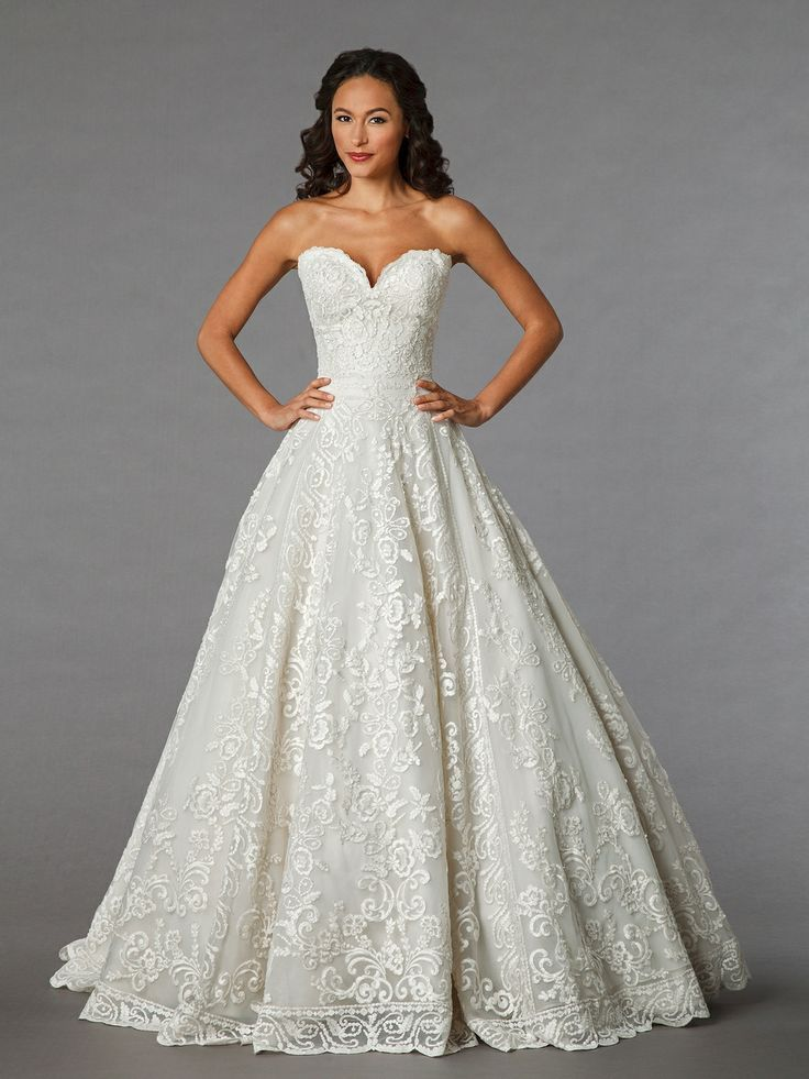 Danielle Caprese Lace Wedding Dress