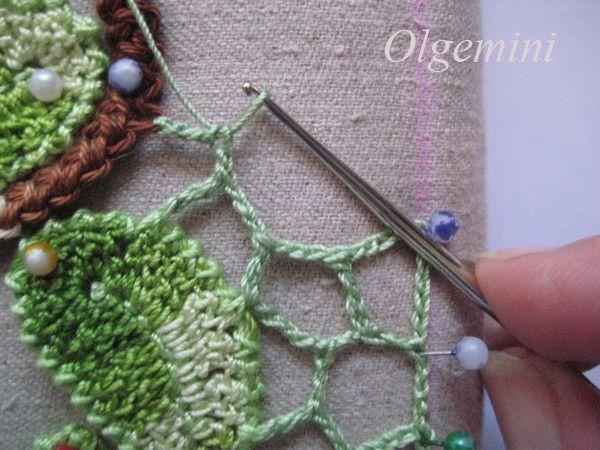 208 best crochet bruges images on pinterest crochet lace outstanding crochet irish crochet even edge of uneven net master class from olgemini ccuart Images