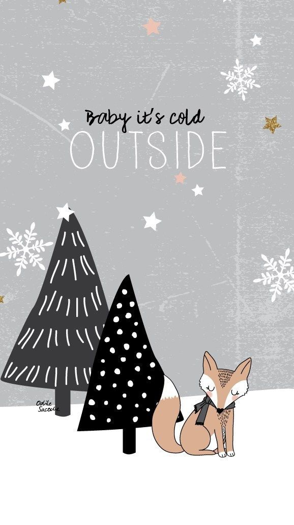 iPhone Wall: Baby It's Cold Outside tjn