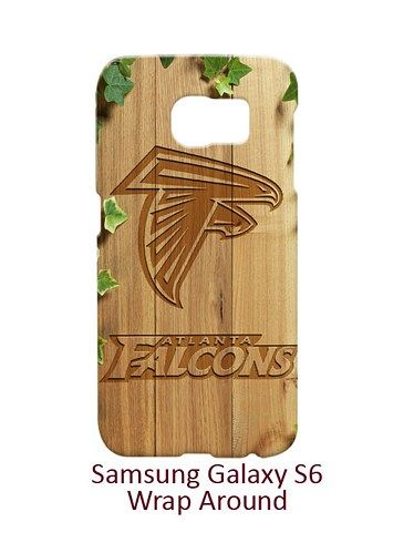 Atlanta Falcons Style Wood and Leave Case for Samsung Galaxy S6