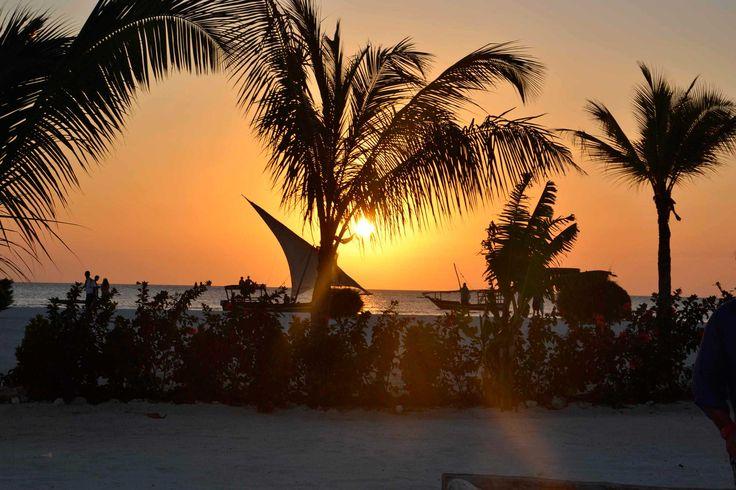 #GoldZanzibar #Sunset #Zanzibar #Kendwa