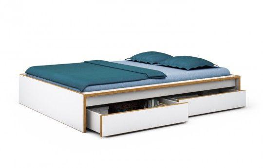 Bett Eicheweisspaulja140 x 200 cm Bett 120x200, Bett