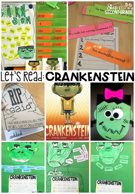 Read Crankenstein and then complete ALL these amazing activities with Rooted in Reading October!