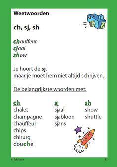 Spelling sj - ch - sh