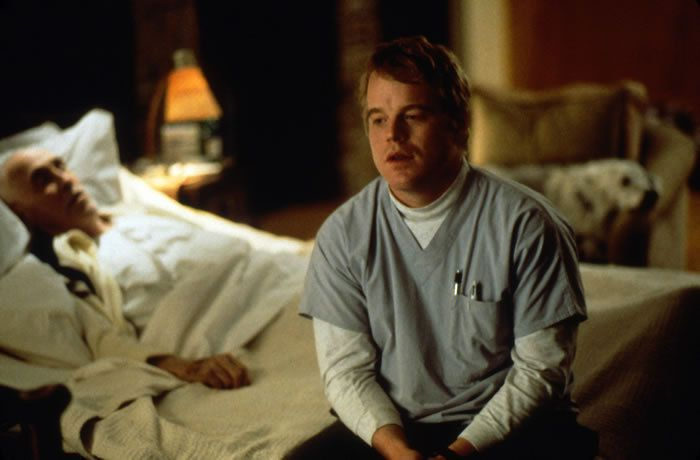 Philip Seymour Hoffman in Magnolia (1999) dir. Paul Thomas Anderson.