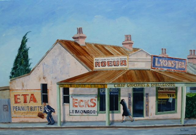 Windy Day, Leichhardt by David Lever.