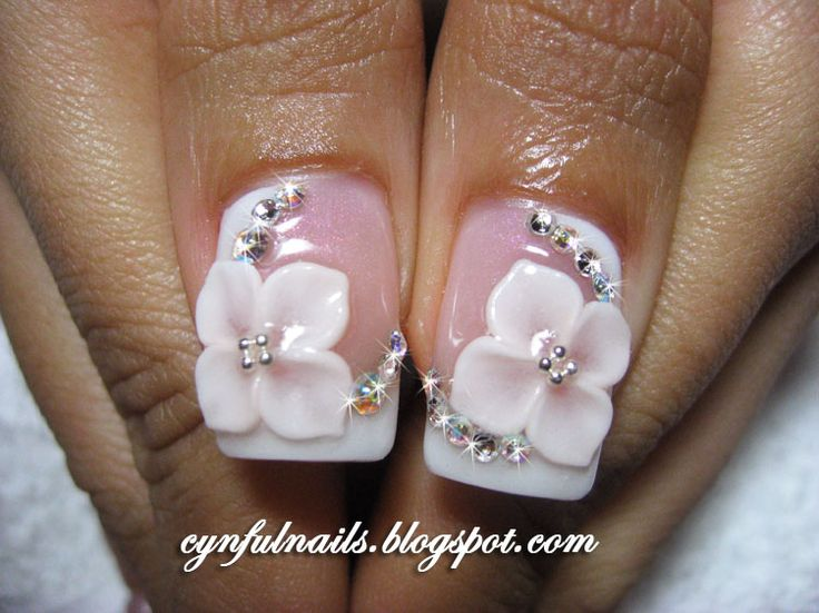 Best 25 3d nail art ideas on pinterest xmas nails grey cynful nails lots of bridal nails prinsesfo Gallery