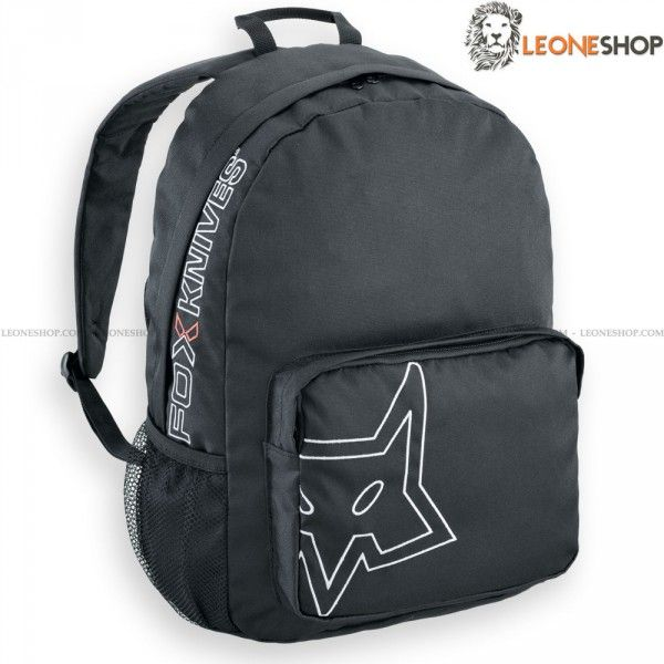 """BackPack FOX Italy, cases, sheaths, bags and Backpacks of Balistic Nylon - Sizes H 15.8"""" x 15.4"""" - Capacity 15 Liter - FOX Italy Balistic Nylon BackPack really exceptional with quality materials, superior quality in all components, inside made of soft and refined material, zip closure, front pocket and side mesh."""