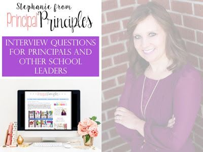1346 best Principal Principles (School Leadership) images on - assistant principal interview questions