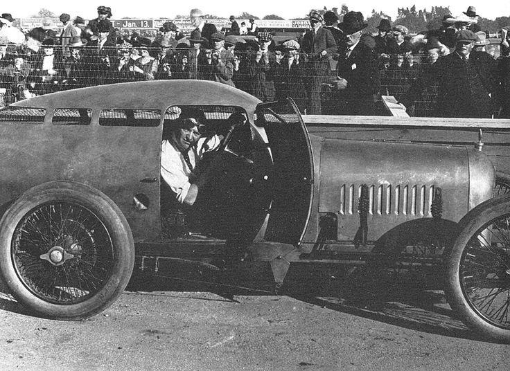 Miller golden submarine - barney oldfield, 1917