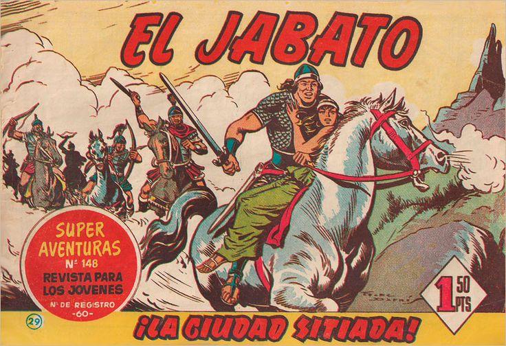 EL JABATO-VICTOR MORA-FRANCISCO DARNIS-EDITORIAL BRUGUERA-RAFAEL CASTILLEJO-ZARAGOZA