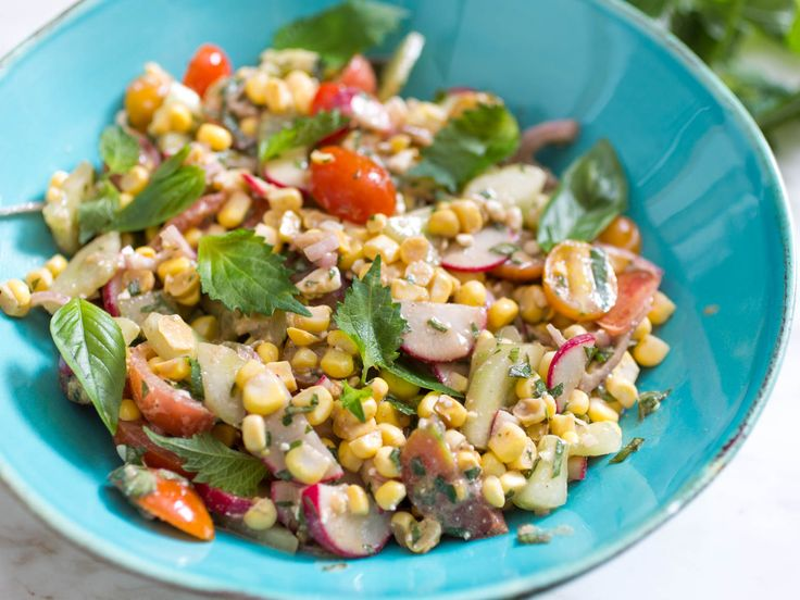 Raw Corn Salad With Shiso and Basil Recipe | Serious Eats