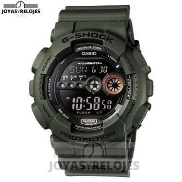 ⬆️😍✅ CASIO G-Shock GD-100MS-3ER ✅😍⬆️ Increíble Modelo de la Colección de Relojes Casio PRECIO 75.24 € En exclusiva en 😍 https://www.joyasyrelojesonline.es/producto/casio-g-shock-gd-100ms-3er-reloj-de-caballero-de-cuarzo-correa-de-resina-color-verde/ 😍 ¡¡Edición limitada!!
