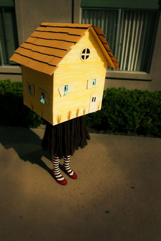 Wizard of Oz House Costume Instructions