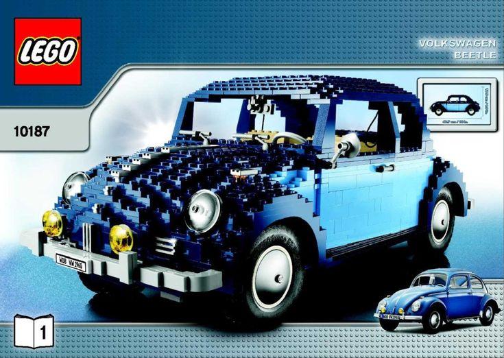 Les modèles avancés -   Instructions pour LEGO 10187 Volkswagen Beetle  Ce sont les instructions pour construire la Coccinelle Volkswagen qui a été publié en 2008.