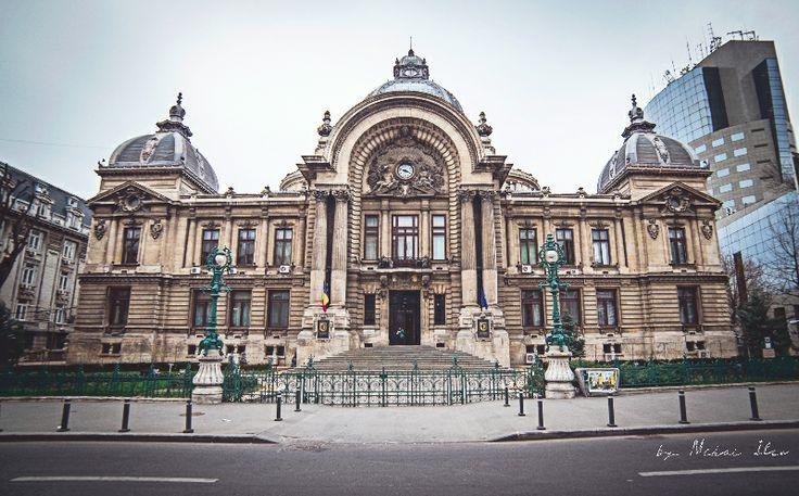 Palatul CEC - Centrul Vechi, Bucuresti. CEC Palace - Old City, Bucharest