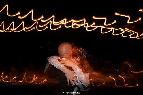 Love these effects #josafatdelatoba #cabophotographer #loscabos #lightpainting #longexposit ure #weddingsinloscabos #hug